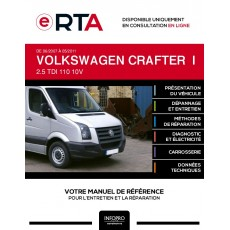 E-RTA Volkswagen Crafter I COMBI 5 portes de 06/2007 à 05/2011