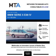 MTA Bmw Serie 5 IV BREAK 5 portes de 03/1997 à 07/2000