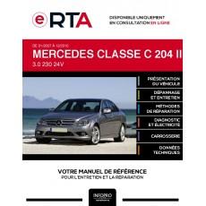 E-RTA Mercedes Classe c III BERLINE 4 portes de 01/2007 à 12/2010