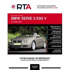 E-RTA Bmw Serie 3 V CABRIOLET 2 portes de 01/2007 à 03/2010