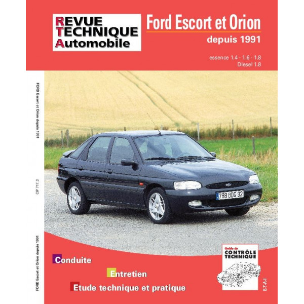 Revue Technique Ford escort et orion 2