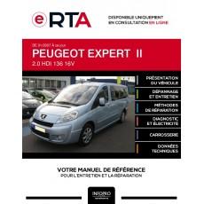 E-RTA Peugeot Expert II COMBI 4 portes de 01/2007 à ce jour