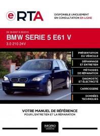 E-RTA Bmw Serie 5 V BREAK 5 portes de 03/2007 à 05/2010
