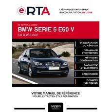 E-RTA Bmw Serie 5 V BERLINE 4 portes de 03/2007 à 12/2009