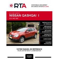 E-RTA Nissan Qashqai I BREAK 5 portes de 01/2007 à 09/2010