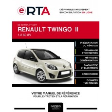 E-RTA Renault Twingo II HAYON 3 portes de 06/2007 à 11/2011
