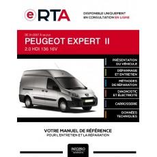 E-RTA Peugeot Expert II FOURGON 5 portes de 01/2007 à ce jour