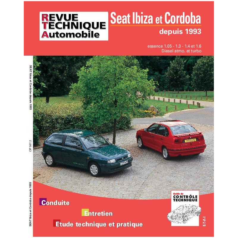 revue technique seat ibiza rta site officiel etai. Black Bedroom Furniture Sets. Home Design Ideas