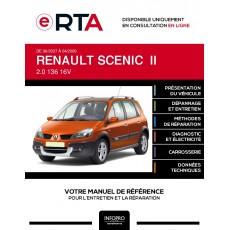 E-RTA Renault Scenic II MONOSPACE 5 portes de 06/2007 à 04/2009