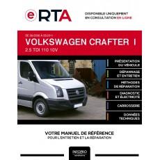 E-RTA Volkswagen Crafter I CHASSIS DOUBLE CABINE 4 portes de 06/2006 à 05/2011