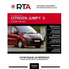 E-RTA Citroen Jumpy II FOURGON 4 portes de 01/2007 à ce jour