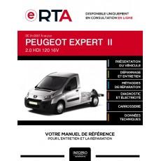 E-RTA Peugeot Expert II PLANCHER CABINE 2 portes de 01/2007 à ce jour